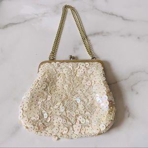 Vintage Safram Beaded Clutch Purse Bag